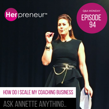 Q&A Monday Ask Annette Anything...