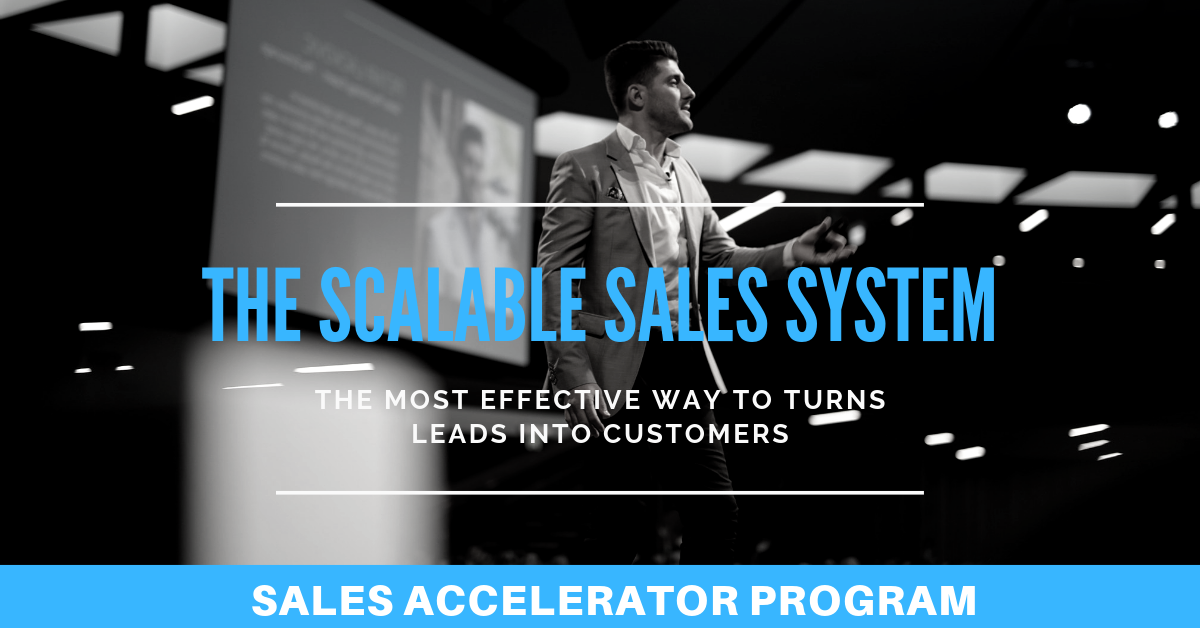the Scalable sales system